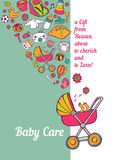 Baby Care Royalty Free Stock Photography