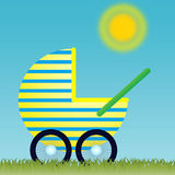 Baby Carriage Stock Photography