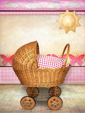 Baby carriage Stock Images