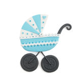 Baby carriage boy Royalty Free Stock Image