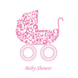 Baby carriage Royalty Free Stock Image