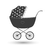 Baby carriage Royalty Free Stock Images