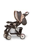 Baby Carriage (Stroller). A baby carriage (stroller) isolated on white. The file includes a clipping path Stock Image