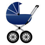 Baby carriage Royalty Free Stock Photo
