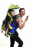 Baby carrier Royalty Free Stock Image