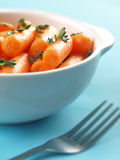 Baby carrot salad Royalty Free Stock Photo