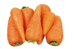 Baby Carrots Stock Photography
