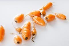 Baby carrots Stock Photo