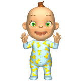 Baby Cartoon Stock Image