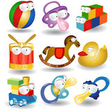 Baby character collection icon Stock Photography