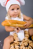 Baby chef Royalty Free Stock Photos