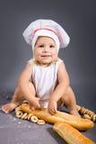 Baby chef Stock Photo