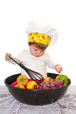 Baby chef Stock Photos