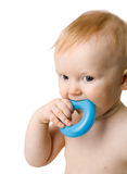 Baby chewing toy Royalty Free Stock Photo