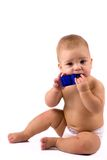 Baby chewing toy Royalty Free Stock Photography