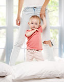 Baby child playing Stock Photos