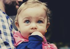 Baby, Child, Toddler, Looking, Girl Royalty Free Stock Photos