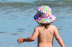 Baby Childhood - Sea Stock Images