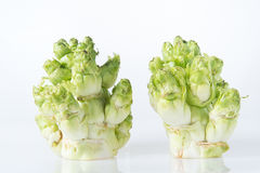 Baby Chinese Cabbage(Brassica juncea Coss), Chinese New Year vegetables Stock Photo