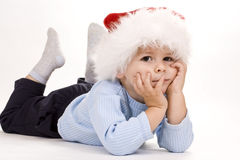 Baby christmas Stock Image