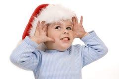 Baby christmas Royalty Free Stock Photos