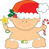 Baby Christmas Royalty Free Stock Photography