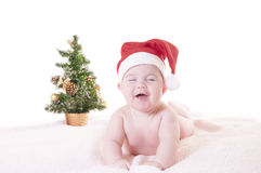 Baby christmas Royalty Free Stock Image