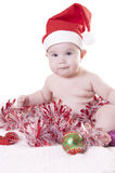 Baby christmas Stock Photos