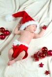Baby Christmas Royalty Free Stock Photo