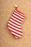 Baby Christmas Stocking Stock Photography
