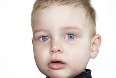 Baby Close Up Stock Image