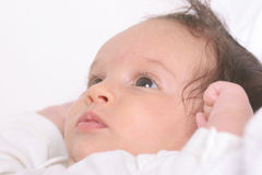 Baby close up Stock Photos