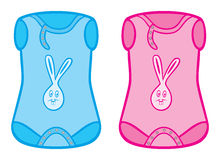 Baby clothes stock illustration
