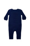 Baby clothes dark blue Royalty Free Stock Photos