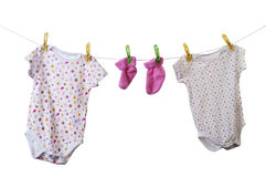 Baby clothes Stock Photos