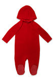 Baby clothes Hoody Red Royalty Free Stock Images