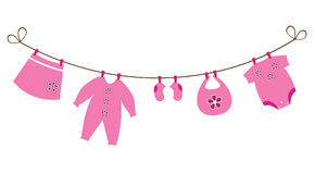 Baby Clothes Line Stock Illustrations, Vectors, & Clipart – (501 ...