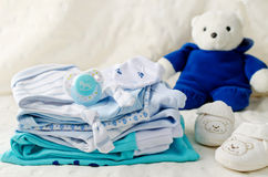 Baby clothes for newborn Royalty Free Stock Photography