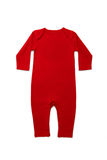 Baby clothes Red Stock Photography