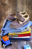 Baby clothes. Royalty Free Stock Photography
