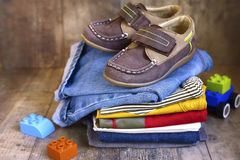 Baby clothes. Royalty Free Stock Photo
