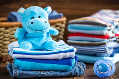 Baby clothes Royalty Free Stock Image