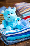 Baby clothes Royalty Free Stock Photo