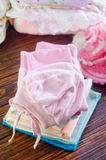 Baby clothes Royalty Free Stock Photos