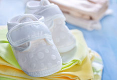 Baby clothes Stock Photos