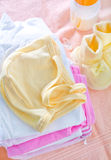 Baby clothes Royalty Free Stock Photography