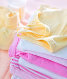 Baby clothes Stock Photography
