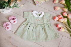 Baby clothes Stock Image