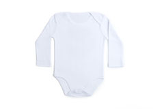 Baby clothes white Royalty Free Stock Photos