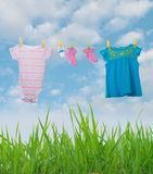 Baby Clothing Stock Image